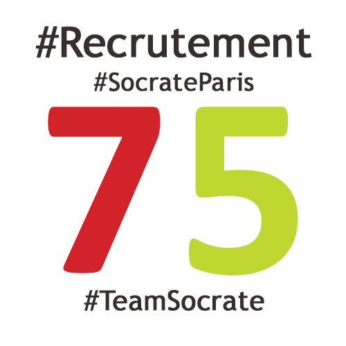 Socrate recrute son/sa référent.e territorial.e Paris