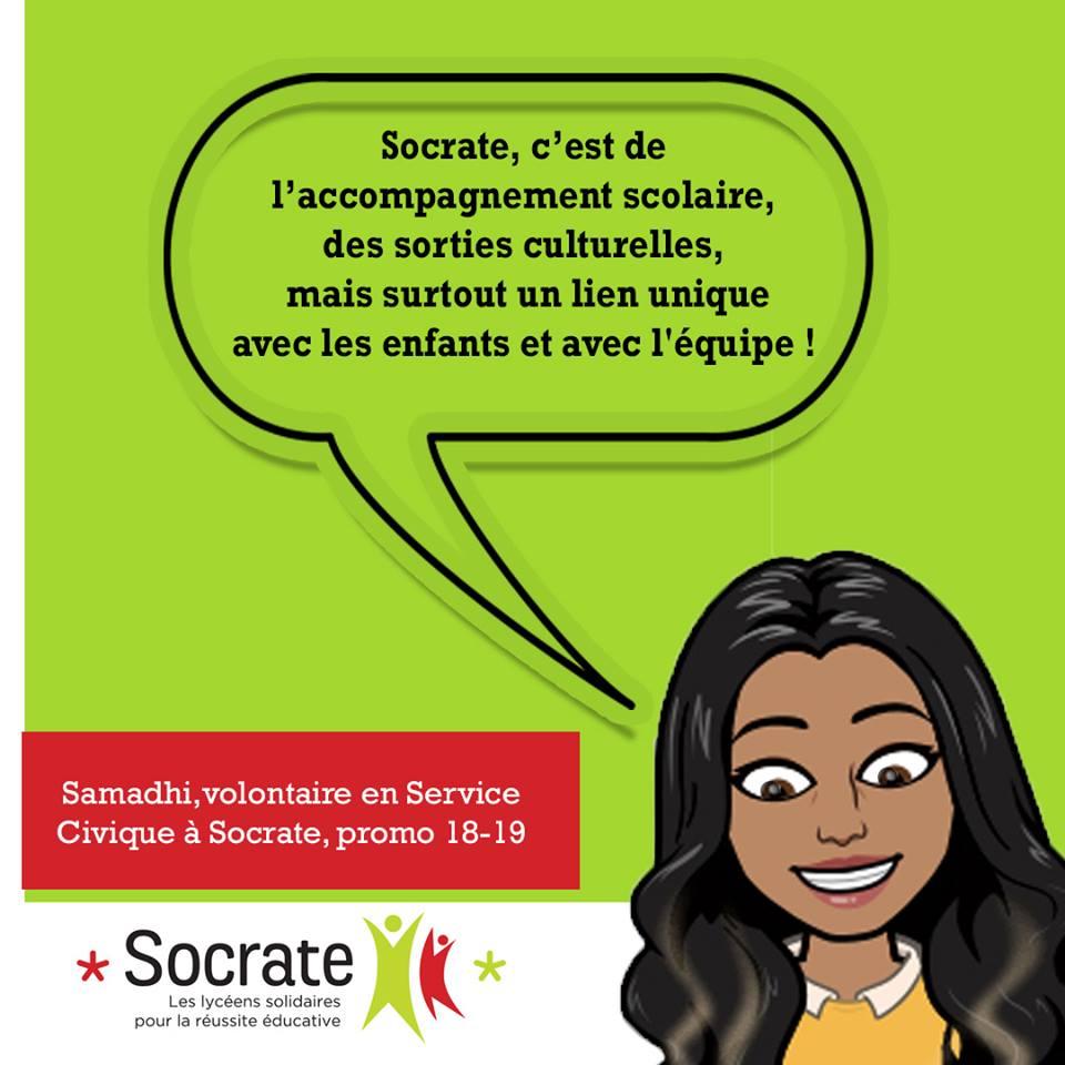 «Mon Volontariat chez Socrate», par Samadhi